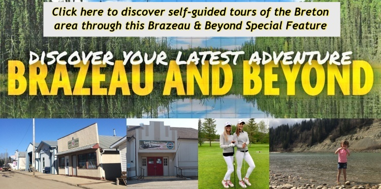Click here to discover the self-guided tours in this Brazeau and Beyond special feature from the Drayton Valley Free Press.